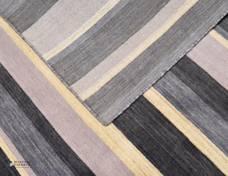 Dianne Grey Stripe Closeup